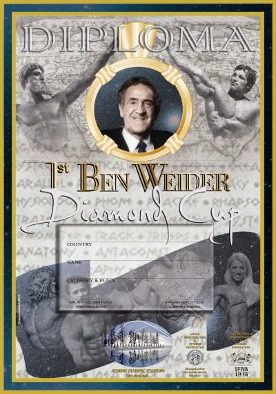 BEN WEIDER D CUP DIPLOMA Final