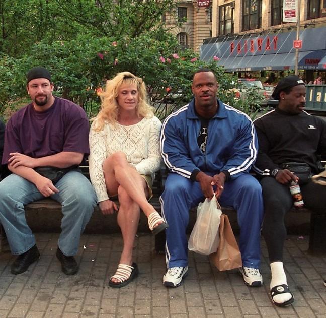 Chad Nicholls, Kim Chivesky, Paul Dillet, Stan McCray - 1999 Night of Champions