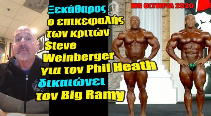 Το δήλωσε: O Heath είχε κοιλιά και Μικρότερα πόδια στο Mr Olympia!